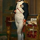 The Emperor Napoleon in his study at the Tuileries by TilenHrovatic
