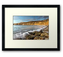 Anglesey Bay Framed Print