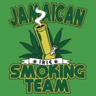 Jamaican Pot Smoking Team by GeekLab