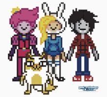 Pixel Time - Gender Bent Adventure by geekmythology