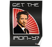 Iron Man Irony Poster