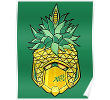 Fruity Hero // Pineapple Robo Poster