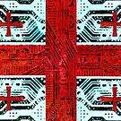 circuit board georgia (flag) by sebmcnulty