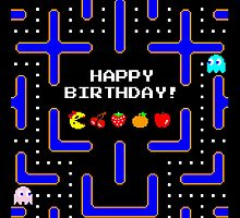 Happy Birthday (Ms. Pac-Man) by enthousiasme