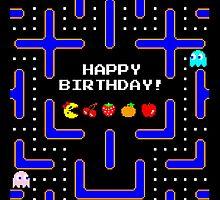 Happy Birthday (Ms. Pac-Man) by enthousiasme