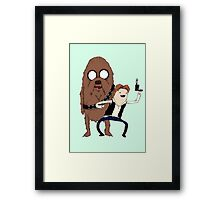 Space Adventure! Mans Best Friend Framed Print