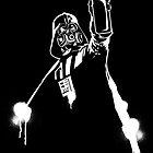 Darth Vader Graffiti by joebarondesign