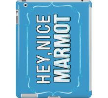 BIG LEBOWSKI- the Dude - Hey, Nice Marmot iPad Case/Skin