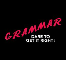 Grammar Dare by fishbiscuit