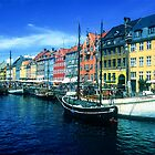Nyhavn, Copenhagen by Christina Backus