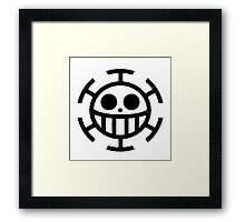 Heart Pirates Logo (Plain) Framed Print