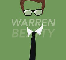 Warren Beatty by 0katypotaty0