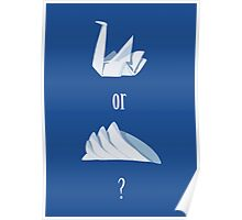 Swan or Sydney Opera House? Poster