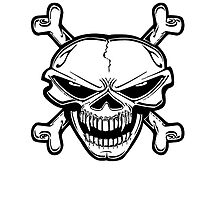 Born To Ride Skull by kwg2200