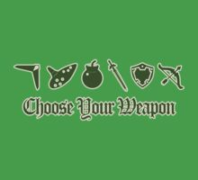 Choose Your Weapon Kids Clothes