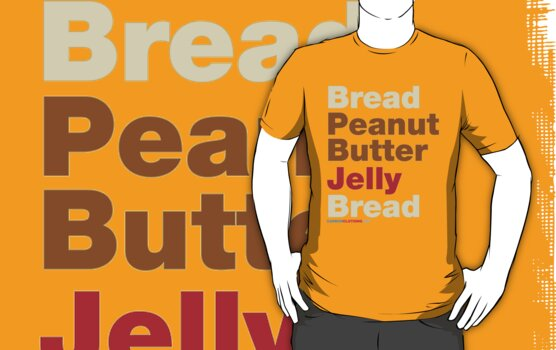 Peanut Butter Jelly Sandwich by CarbonClothing