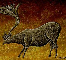 Les Combarelles Reindeer  by mindprintz
