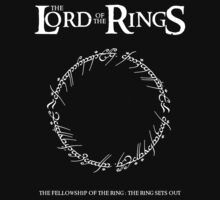 The Lord of the Rings : The Ring Sets Out by justgeorgia