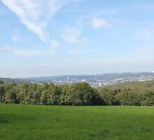 Scenic View over Wuppertal by stine1
