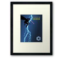Vader - The Dark Lord Returns Framed Print
