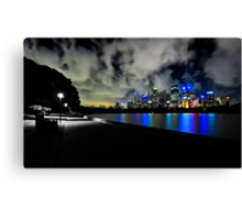 Darkness Meets Nights Canvas Print