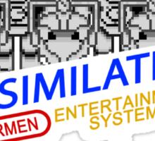 NINTENDO: NES ASSIMILATE! Sticker