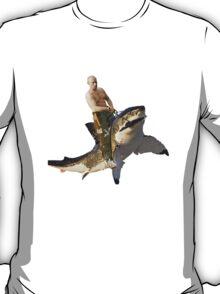 Putin riding a shark T-Shirt