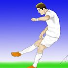 Ronaldo football sketch by TDCartoonArt