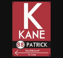 Retro CTA sign Kane by mightymiked