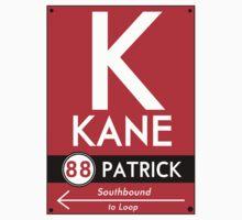 Retro CTA sign Kane Kids Clothes
