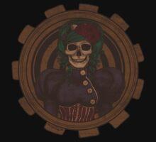 Steampunk Skullgirl Kids Clothes
