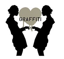 Graffiti Love White Background by tiffanydow