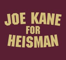 The Program - Joe Kane For Heisman by Beau Franklin