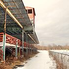 Barrington Fair Grandstand in WInter by Geoffrey Coelho