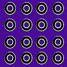 Purple Bearing Pattern by Casey Lynn