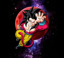 Super Saiyan 4 - Son Goku by coffeewatson