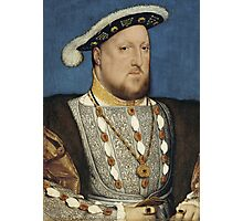 Portrait of Henry VIII of England by Hans Holbein Photographic Print