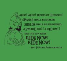 Arise riders of Théoden! v2 by Huertense