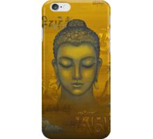 Buddha. The message iPhone Case/Skin