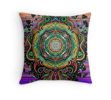 Mandala HD 1 Throw Pillow