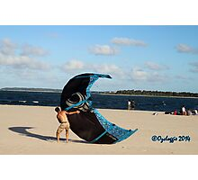 A blue touch Photographic Print