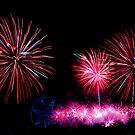 Australia Day Fireworks - Melbourne 2014 by TonyCrehan