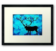 Oh Deer!!! BOKEH!! Framed Print
