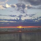 Aspendale sunset by Caroline Martin