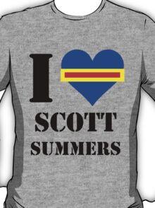 I Love / Heart Scott Summers T-Shirt
