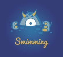 Digi-Fitties: swimming by digitalstoff