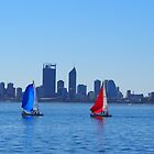 Perth Sailing by Caroline Martin