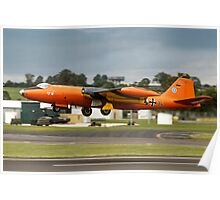 Canberra B.2 99+34 taking off at Fairford Poster
