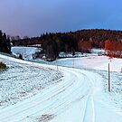 Winter road by Patrick Jobst