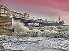 A Windy Day - Brighton Pier by Colin J Williams Photography